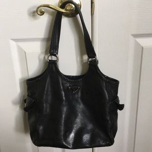 TODAY! Beautiful Prada Italian Leather Bag!